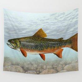 Lurking Fish Wall Tapestry