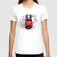 picard T-shirts featuring Captain Picard Day by Lady Yate-xel