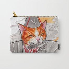 Samurai Cat Carry-All Pouch