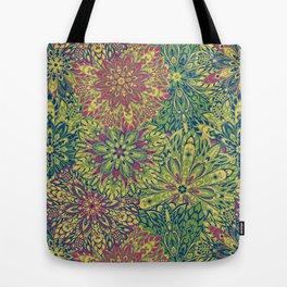 Bright Mandala Tote Bag