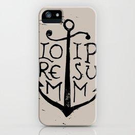 Lorem Ipsum iPhone Case