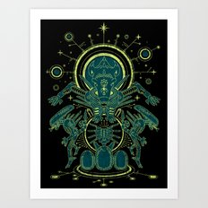 Xeno Codex Art Print