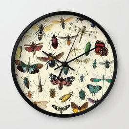 Lovely Butterfly Wall Clock