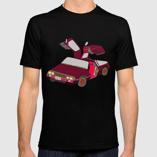 cool girls like flying cars T-shirt