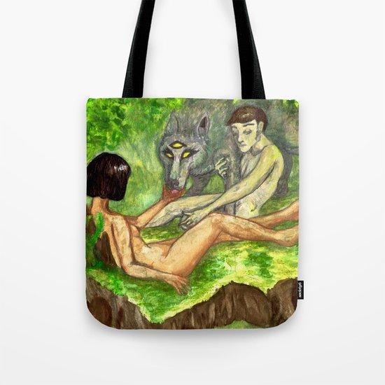 """The Haunted Man"" by Virginia McCarthy & Cap Blackard Tote Bag"