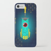 transistor iPhone & iPod Cases featuring Transistor by CyberneticGhost