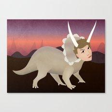 Michael Ceratops Canvas Print