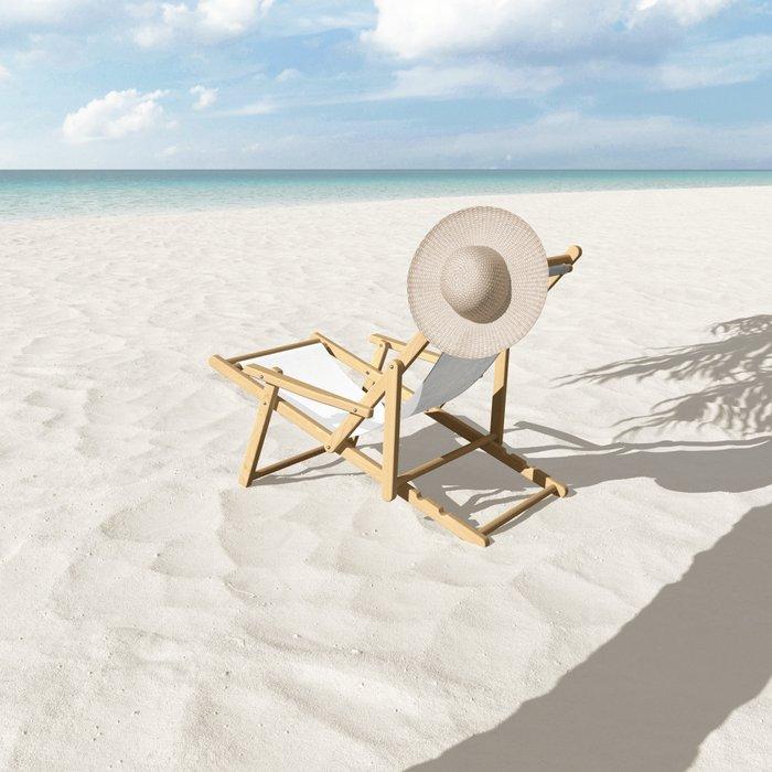 Concrete Vs White Sling Chair