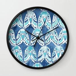 PARAKEET ON REPEAT Wall Clock
