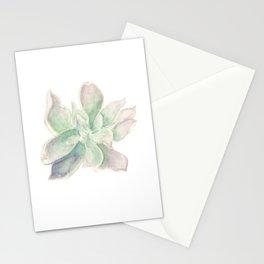 Succulent (Desert Rose Echeveria) Stationery Cards