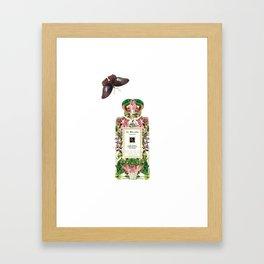 JO MALONE: LIME BASEL & MANDARIN Framed Art Print
