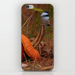 A Chickadee Thanksgiving iPhone Skin