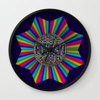 funky Wall Clocks featuring FUNKY! by A-Devine