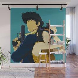 Cowboy Bebop Minimalistic Anime Art Wall Mural