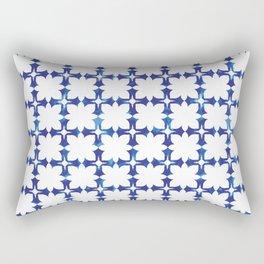 blue morrocan dream no1 Rectangular Pillow