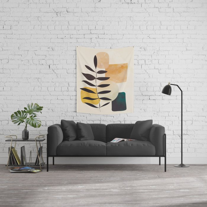 Abstract Elements 20 Wall Tapestry