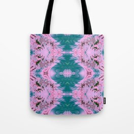 Japanese Water Gardens Fractal Abstract Tote Bag