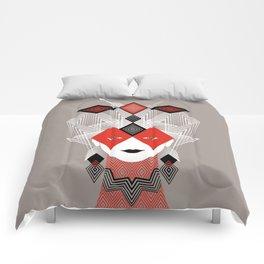 The Queen of diamonds Comforters