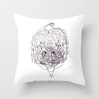 predator Throw Pillows featuring Predator. by sonigque