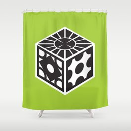 Lament Configuration Shower Curtain