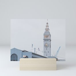 At the Ferry Building in San Francisco Mini Art Print