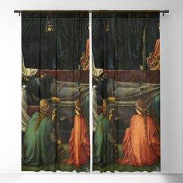 Edward Burne-Jones - The Last Sleep of Arthur in Avalon Blackout Curtain