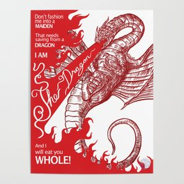 I am the Dragon Poster