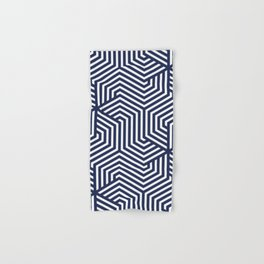 Space cadet - blue - Minimal Vector Seamless Pattern Hand & Bath Towel
