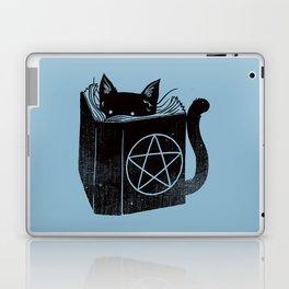WITCHCRAFT CAT (Blue) Laptop & iPad Skin