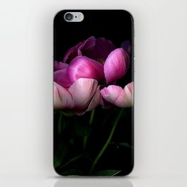 Dark Peonies iPhone Skin