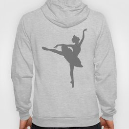 Grey Ballerinas Hoody