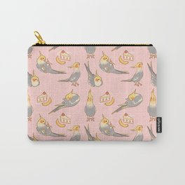 Cinnamon cockatiels all-over Carry-All Pouch