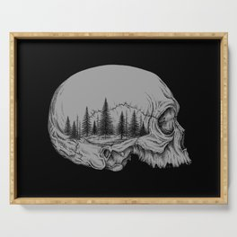 SKULL/FOREST II Serving Tray
