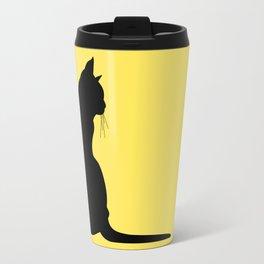 Cat's silhouette Travel Mug