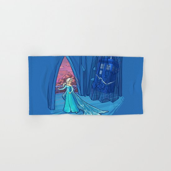 Frozen in Time and Space Hand & Bath Towel