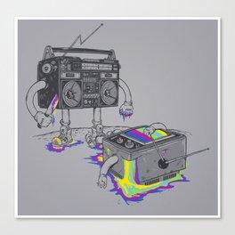 Revenge of the radio star Canvas Print