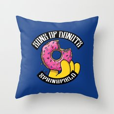 Sons Of Donuts / Simpsons / Donuts Throw Pillow