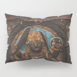 Temples and Architecture of Kathmandu City, Nepal 001 Pillow Sham