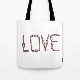 Love as resistance Tote Bag