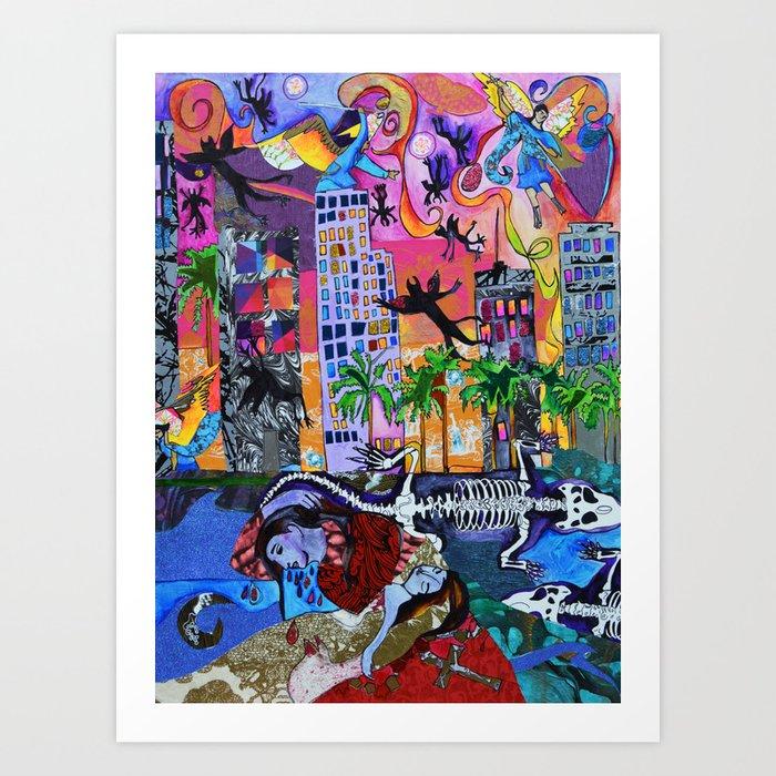 Bloody Mary of Miami Art Print
