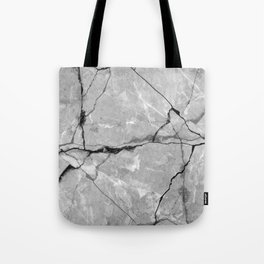 Cracked marble Tote Bag