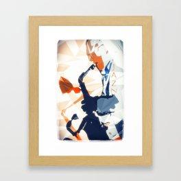 Jazz Sax Poster Framed Art Print