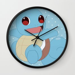 SquirtSquirtle Wall Clock