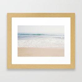 Malibu Picnic Framed Art Print