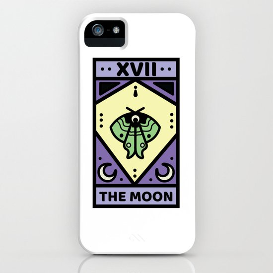 The Moon Pastel Tarot Card by paytontaylor17