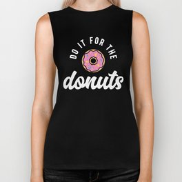 Do It For The Donuts Biker Tank