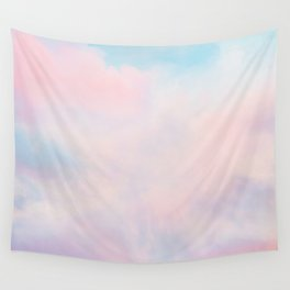 cotton candy dreaming Wall Tapestry