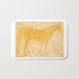Abstract Silver Bath Mat