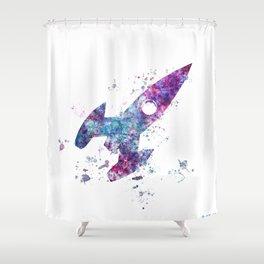 The little ship Shower Curtain