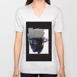 BlackFace Unisex V-Neck